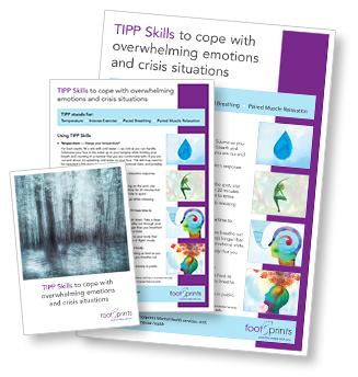 TIPP Skills brochure, leaflet and poster