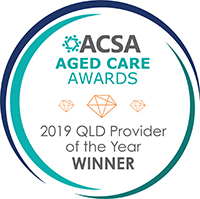 ACSA Aged Care Awards 2019 QLD Provider of the Year WINNER