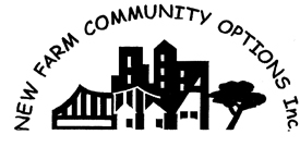 New Farm Community Options Inc. logo