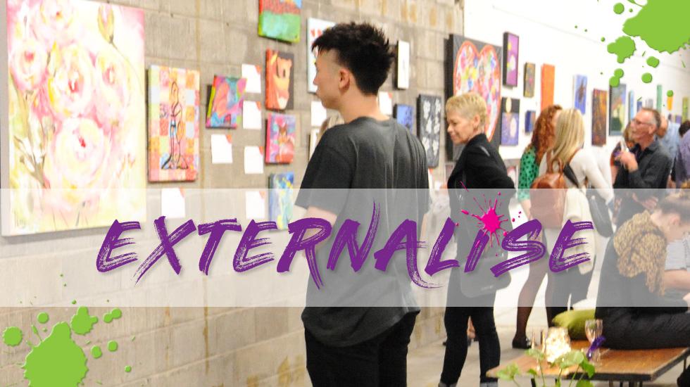 Footprints 2018 Art Exhibition: Externalise